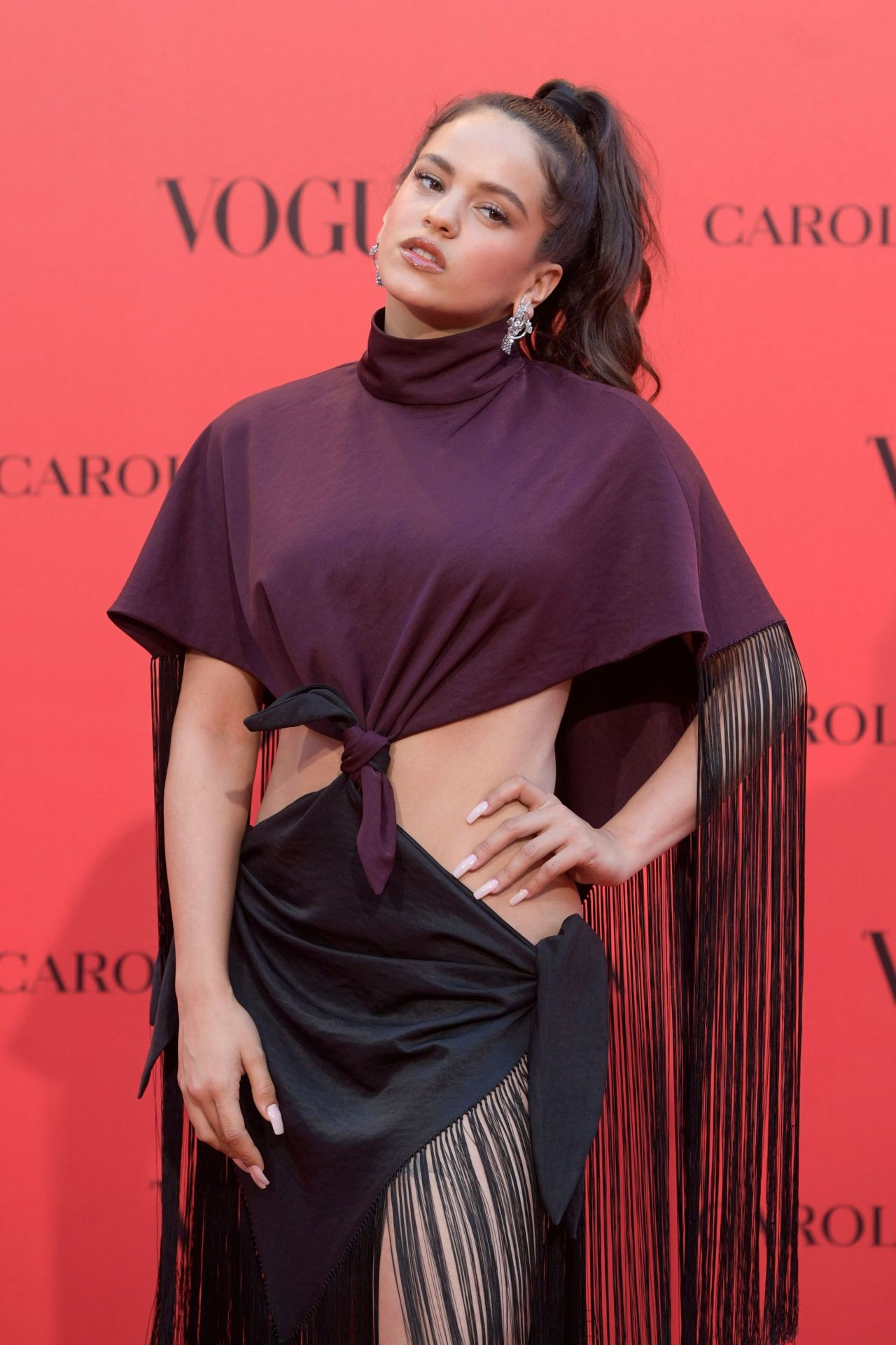 Rosalia  VOGUE Spain 30th Anniversary Party in Madrid
