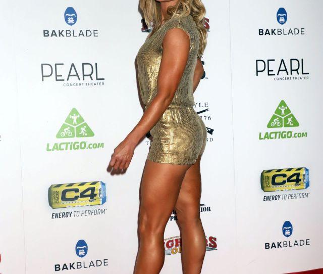 Torrie Wilson World Mma Awards In Las Vegas