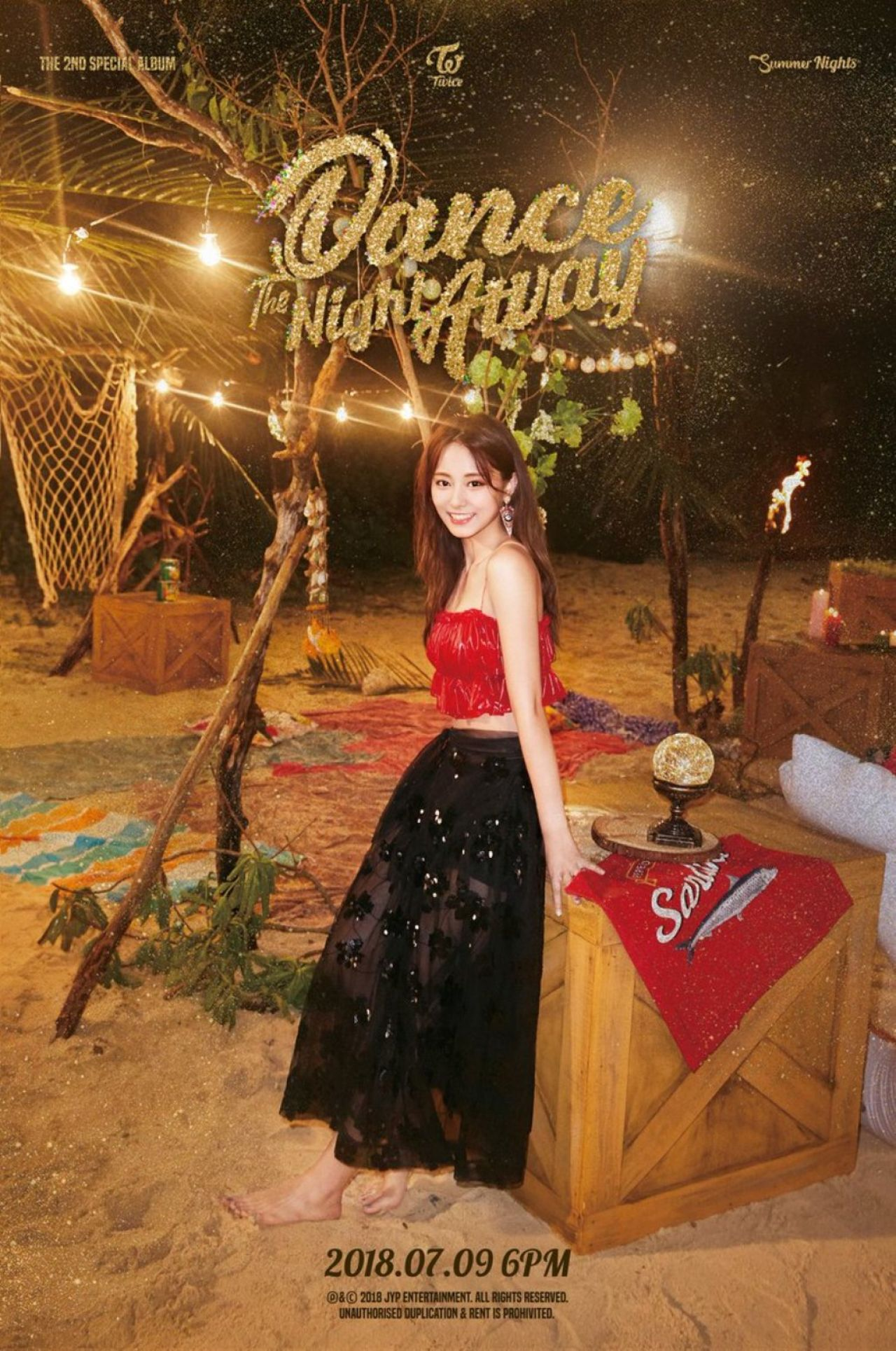 Twice  Summer Nights 2nd Special Album Teaser Photos 2018