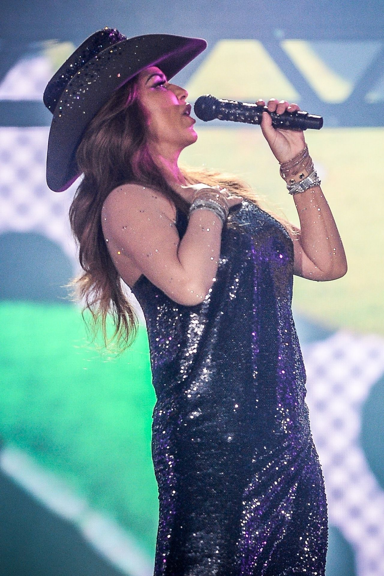 Shania Twain Performs at the Cowboy Festival of Barretos in Sao Paulo 08192018
