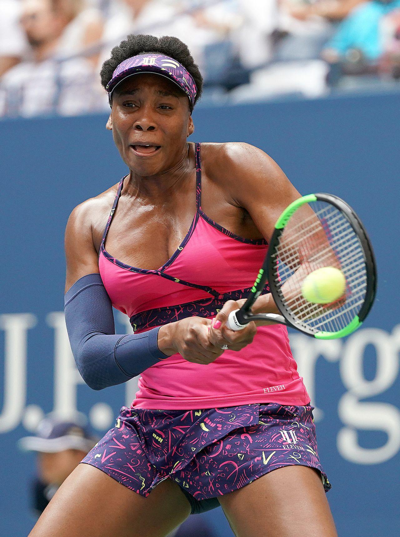 Venus Williams  2018 US Open Tennis Tournament 08272018