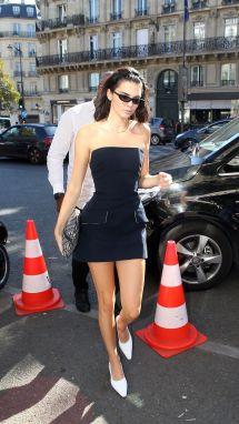 Kendall Jenner In Mini Dress - Paris 09 27 2018