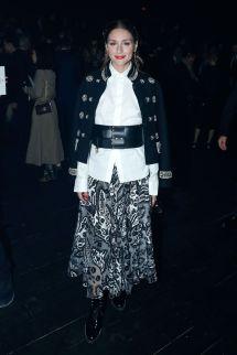 Olivia Palermo Christian Dior Show Paris Fashion Week