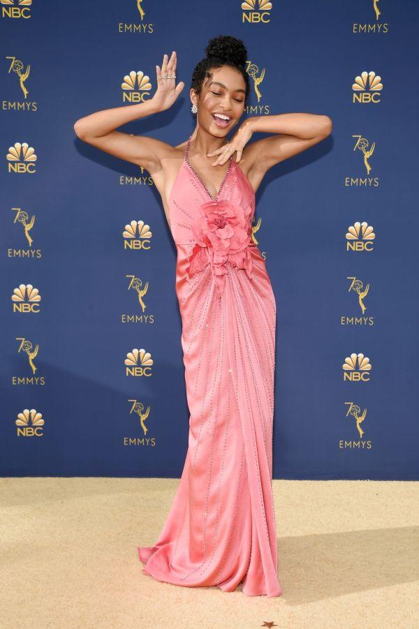 Yara Shahidi 2018 Emmy Awards