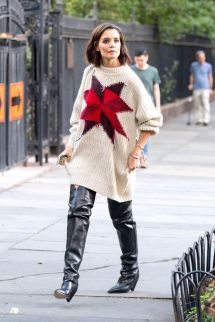 Katie Holmes Style And Fashion - Nyc 10 2018