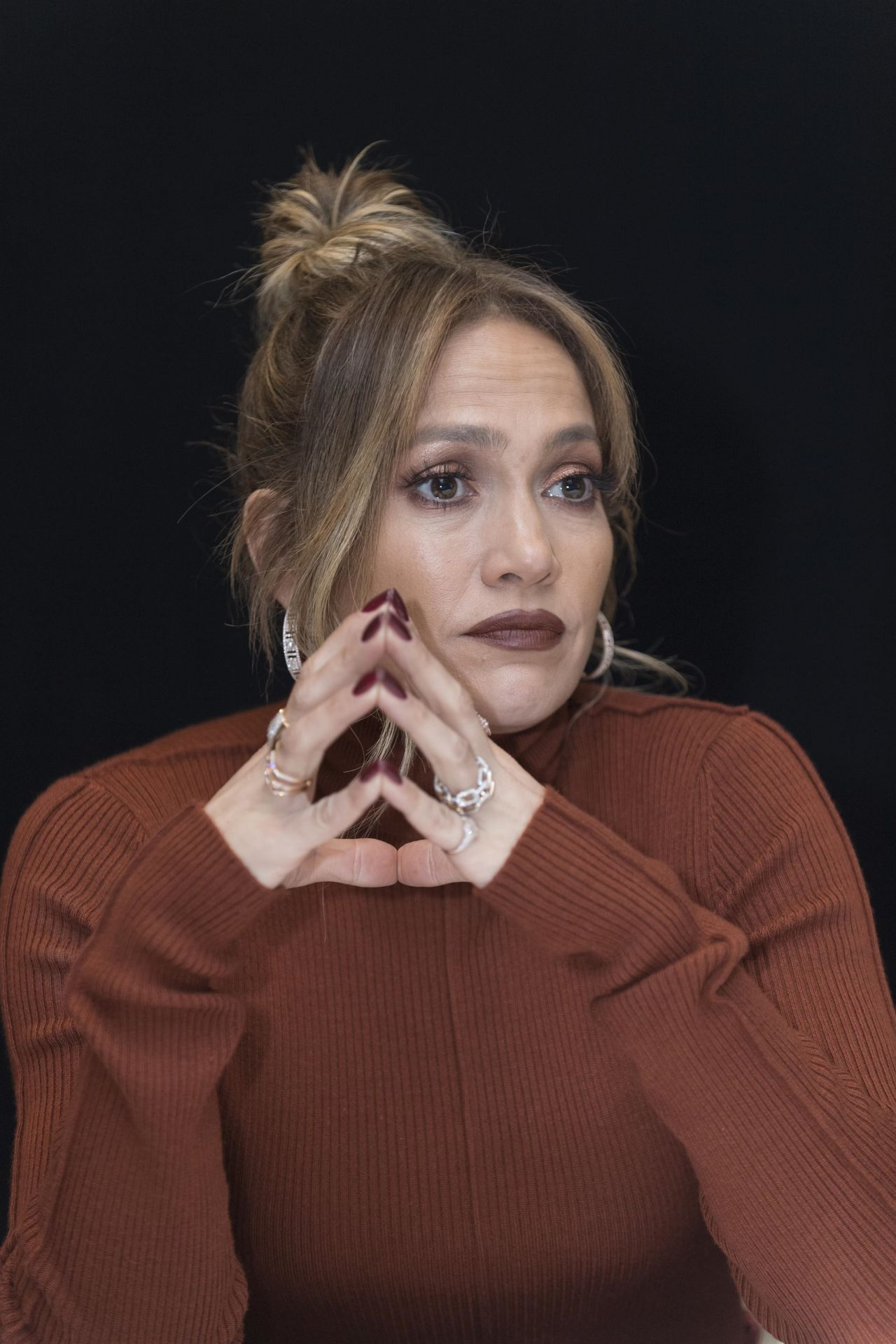 Jennifer Lopez  Second Act Press Conference in Beverly Hills