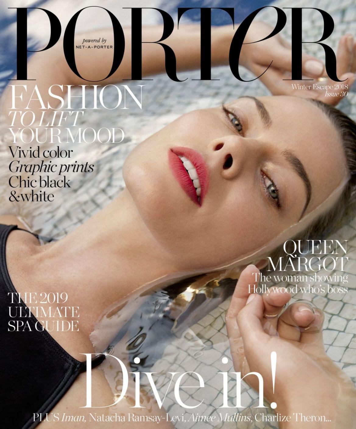 Margot Robbie – Porter Magazine 2018 Photos