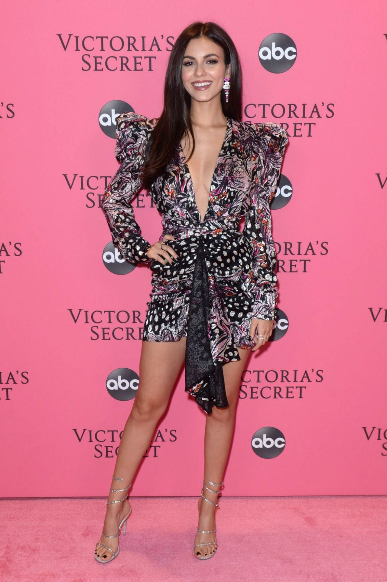 Victoria Justice  2018 Victoria's Secret Fashion Show