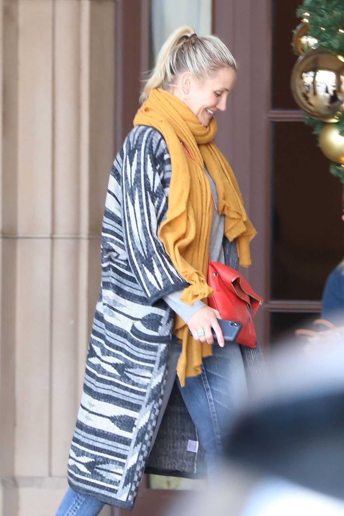 Cameron Diaz – Heading to Lunch in Beverly Hills 11/30/2018