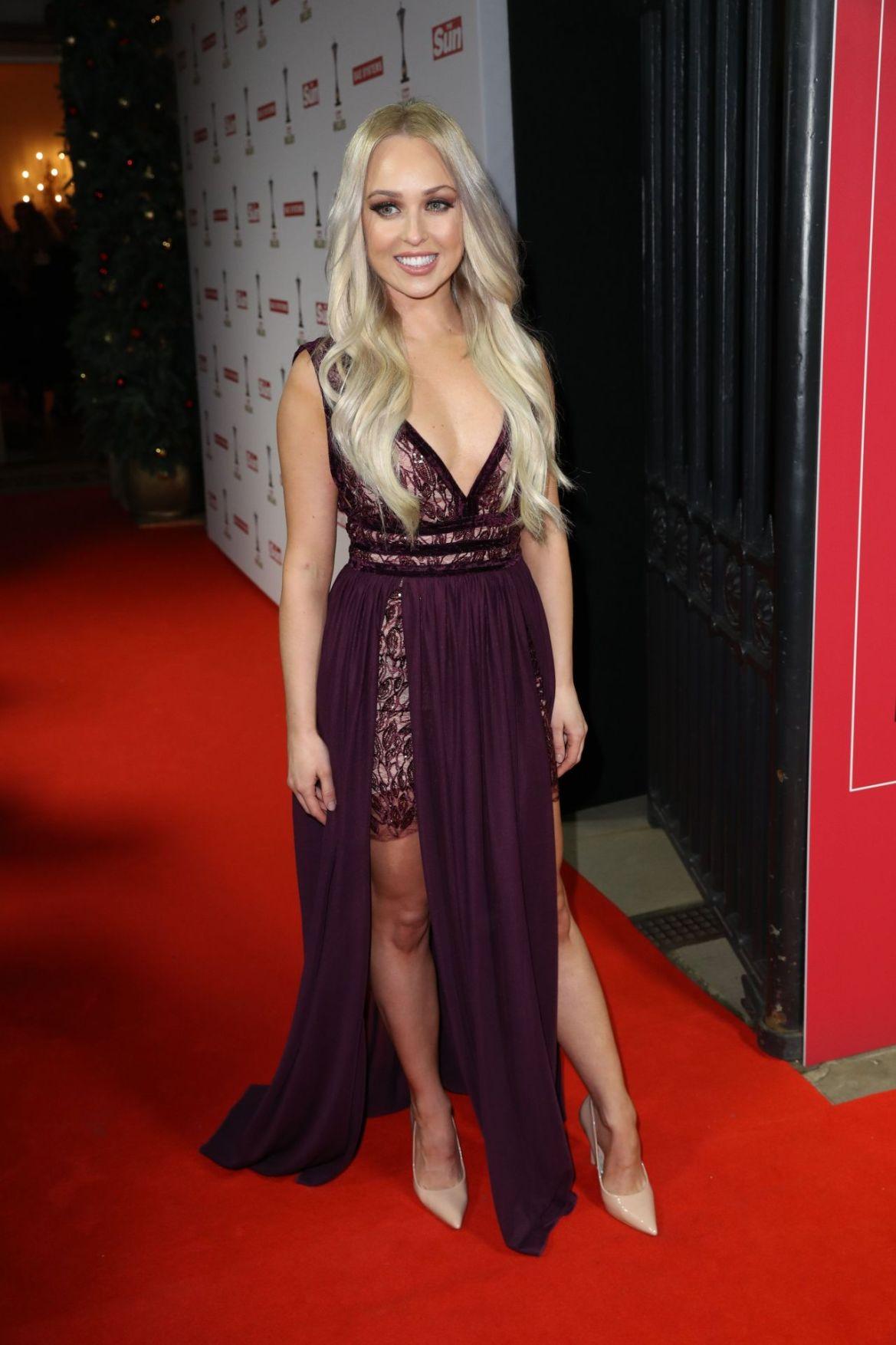Jorgie Porter – The Sun Military Awards 2018