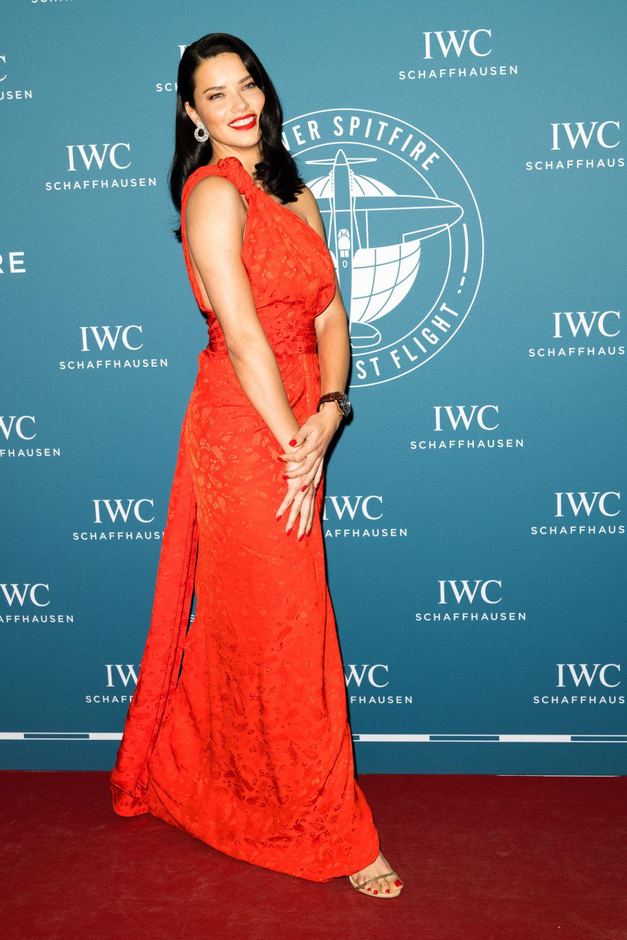 Adriana Lima Iwc Schaffhausen In Geneva 01 15 2019