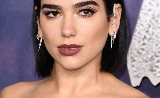 Dua Lipa Alita Battle Angel Premiere In London