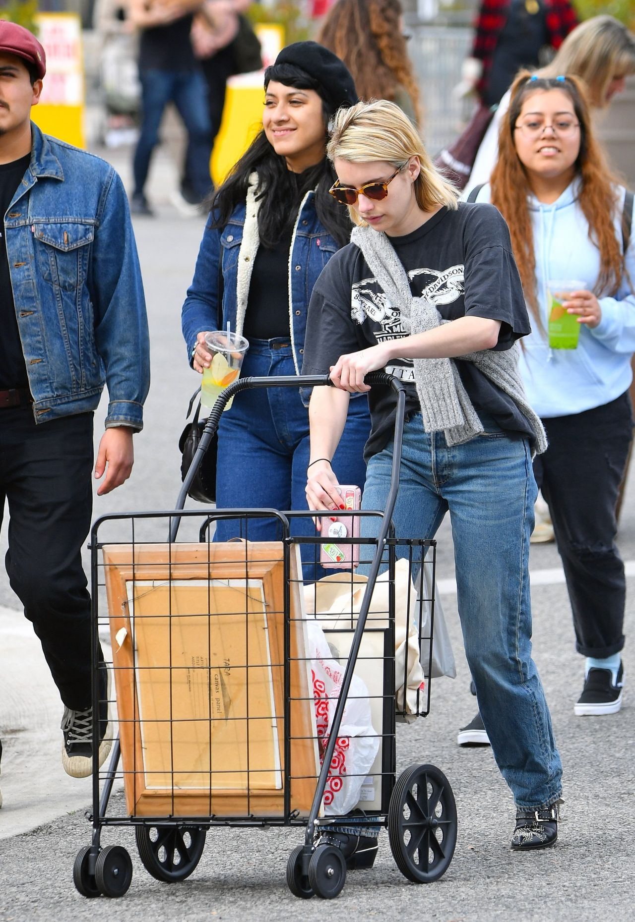 Emma Roberts  Out in LA 01132019