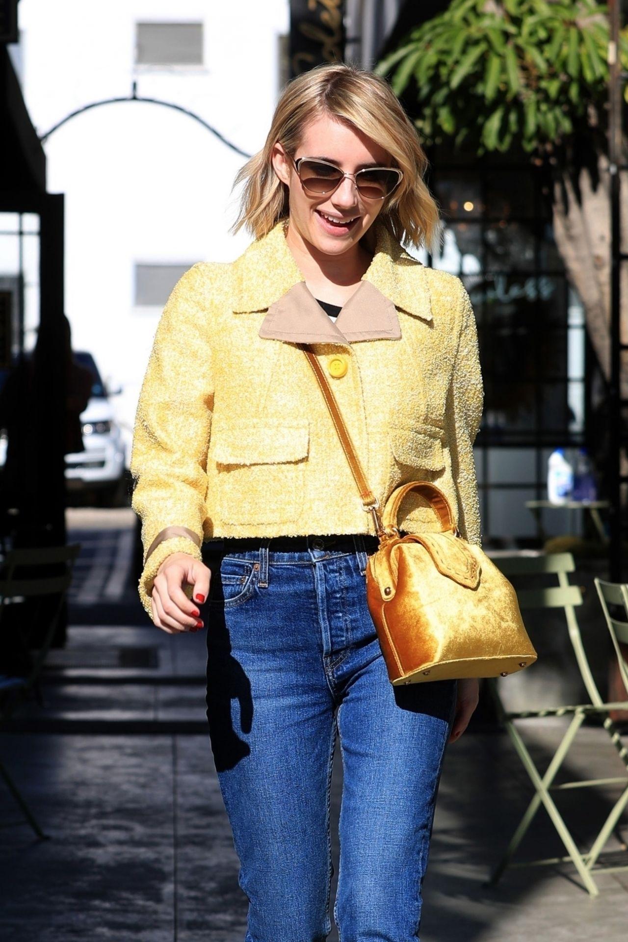 Emma Roberts Street Style 01042019