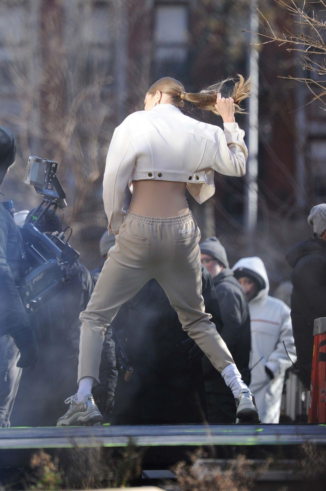 Gigi Hadid  Photoshoot in NYC 01112019