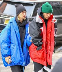 Hailey Rhode Bieber and Justin Bieber - Out in New York 01 ...