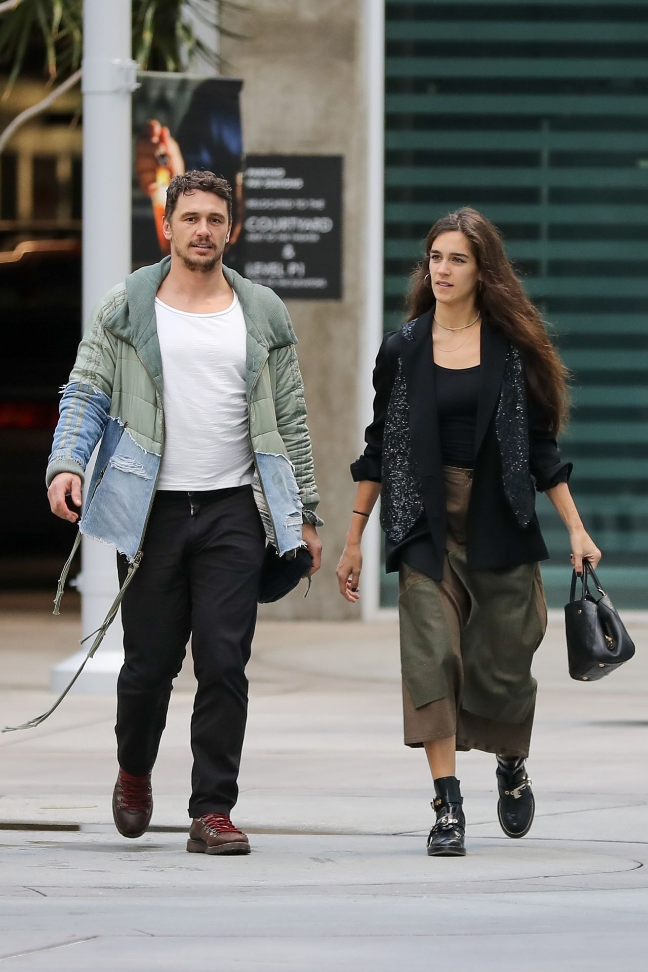 Isabel Pakzad and James Franco  Out in LA 01122019