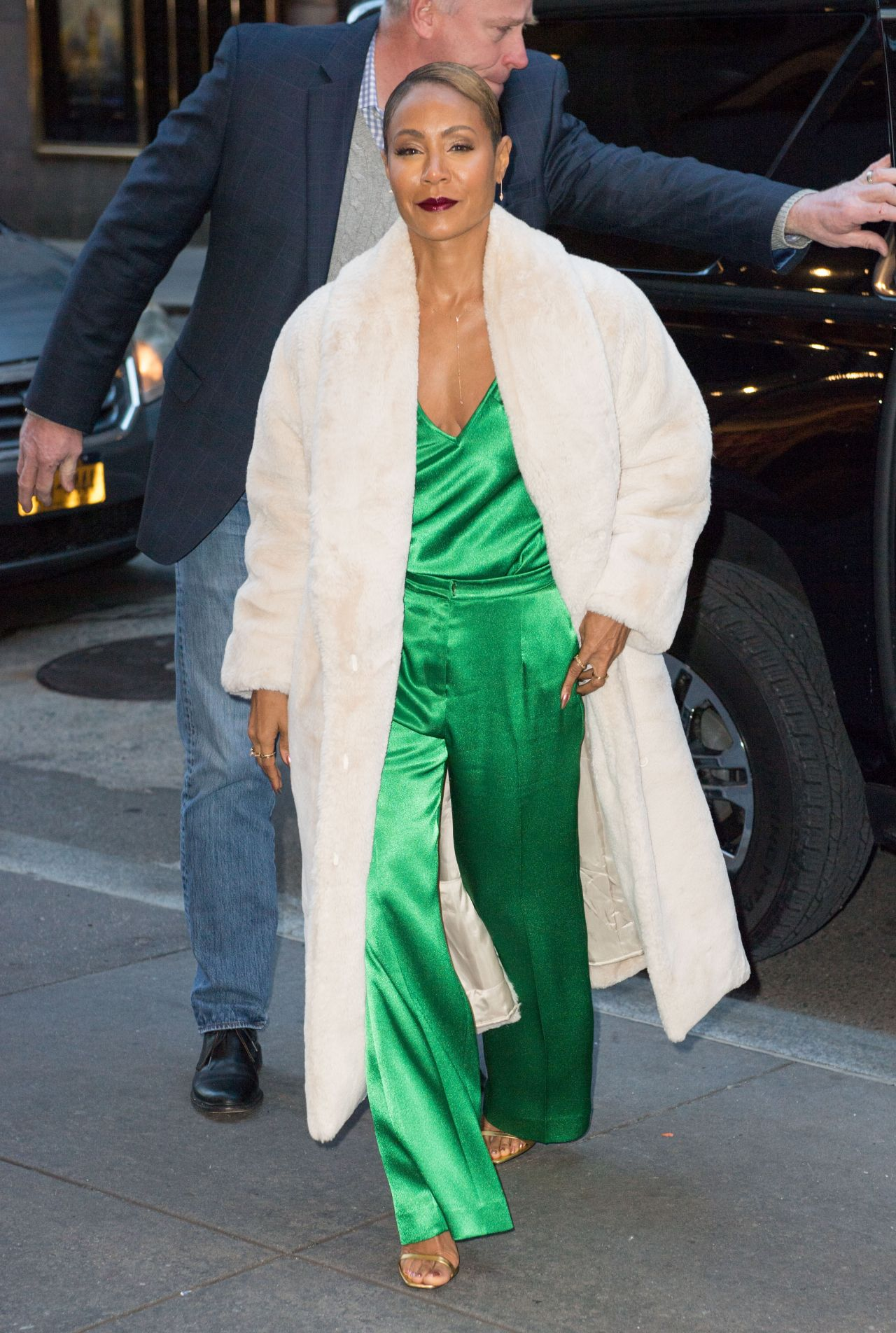 Jada Pinkett Smith Looks Stylish  New York 01212019