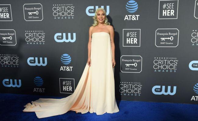 Lady Gaga 2019 Critics Choice Awards