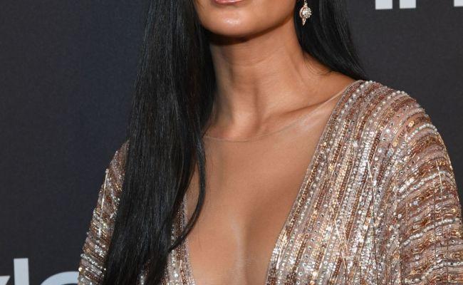 Nicole Scherzinger Instyle And Warner Bros Golden Globes
