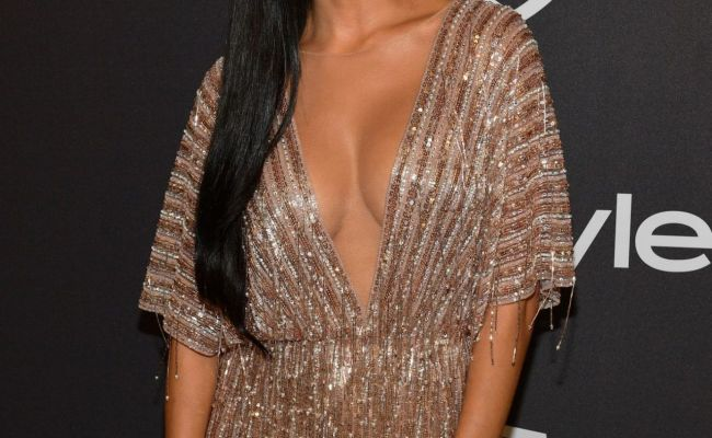 Nicole Scherzinger Instyle And Warner Bros Golden Globes