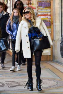 Sylvie Meis Street Fashion 01 21 2019