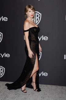 Taylor Swift Instyle And Warner Bros Golden Globes 2019