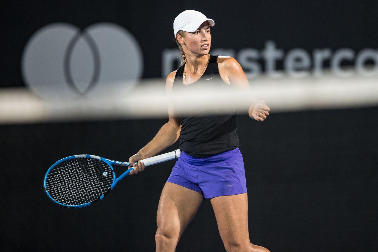 Yulia Putintseva  2019 Sydney International Tennis 01092019