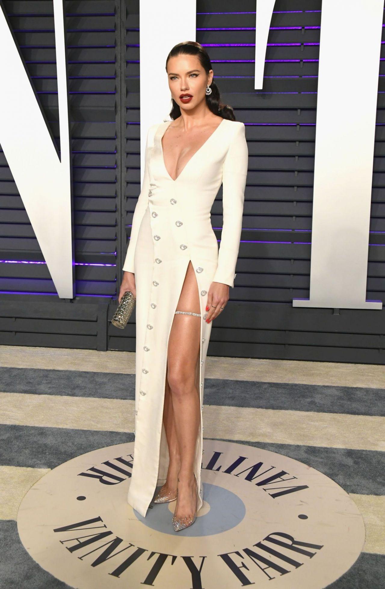 Adriana Lima  2019 Vanity Fair Oscar Party