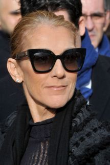 Celine Dion - Leaves Hotel In Paris 02 01 2019