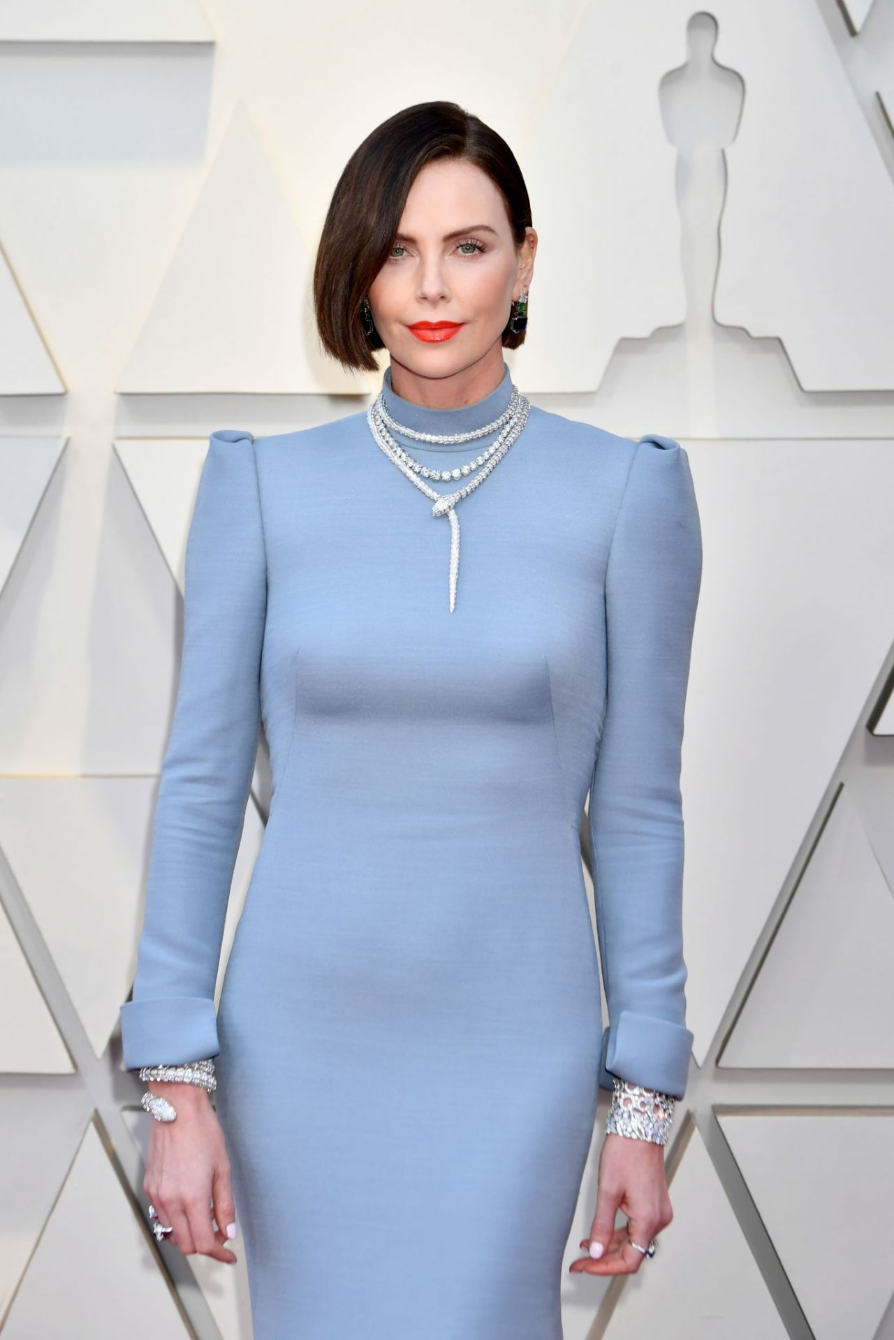Charlize Theron  Oscars 2019 Red Carpet