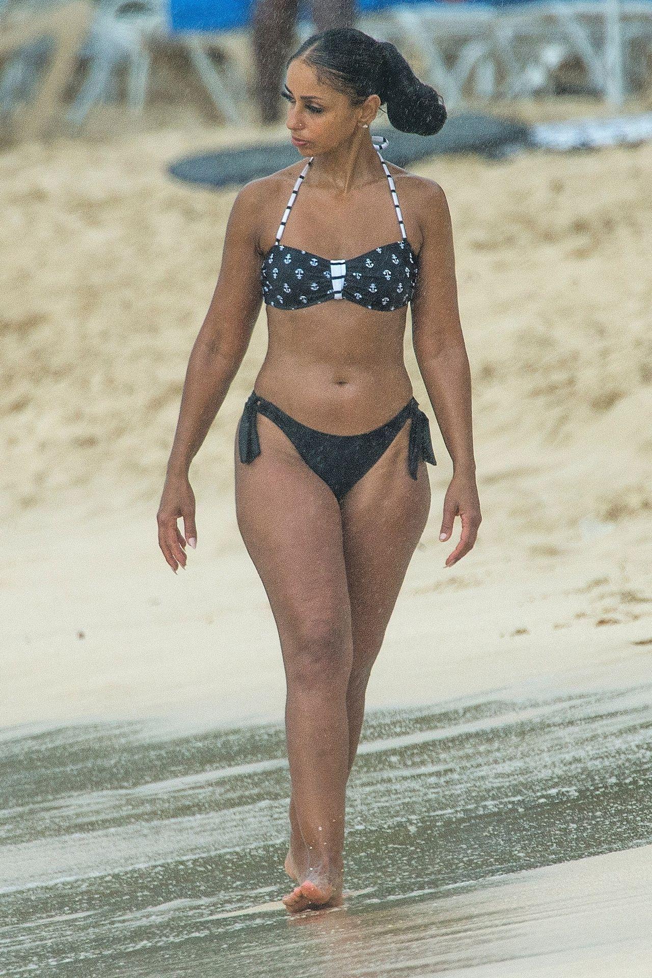 Mya in a Bikini in Barbados 02232019