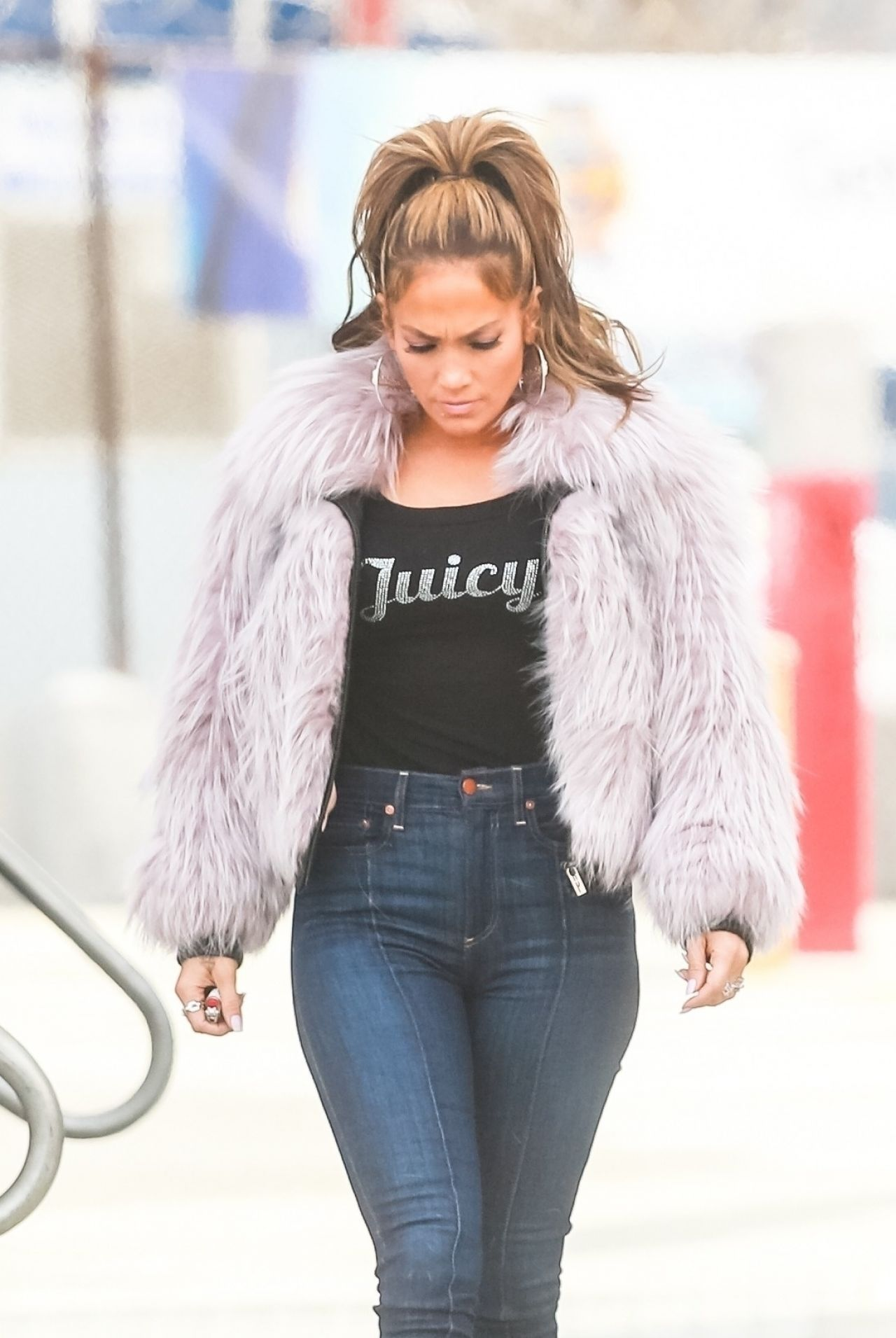 Jennifer Lopez 2000s Inspired Look  Hustlers Movie Set
