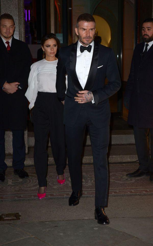 Victoria Beckham And David - National Portrait