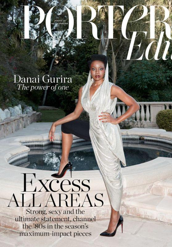 Danai Gurira  The Edit by NetAPorter Magazine April 2019