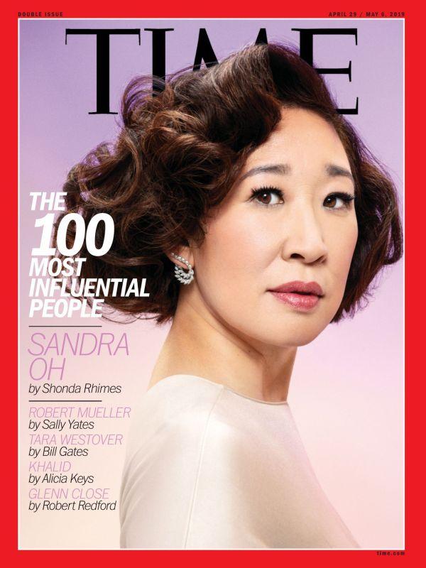 Sandra Time100 Magazine April 2019
