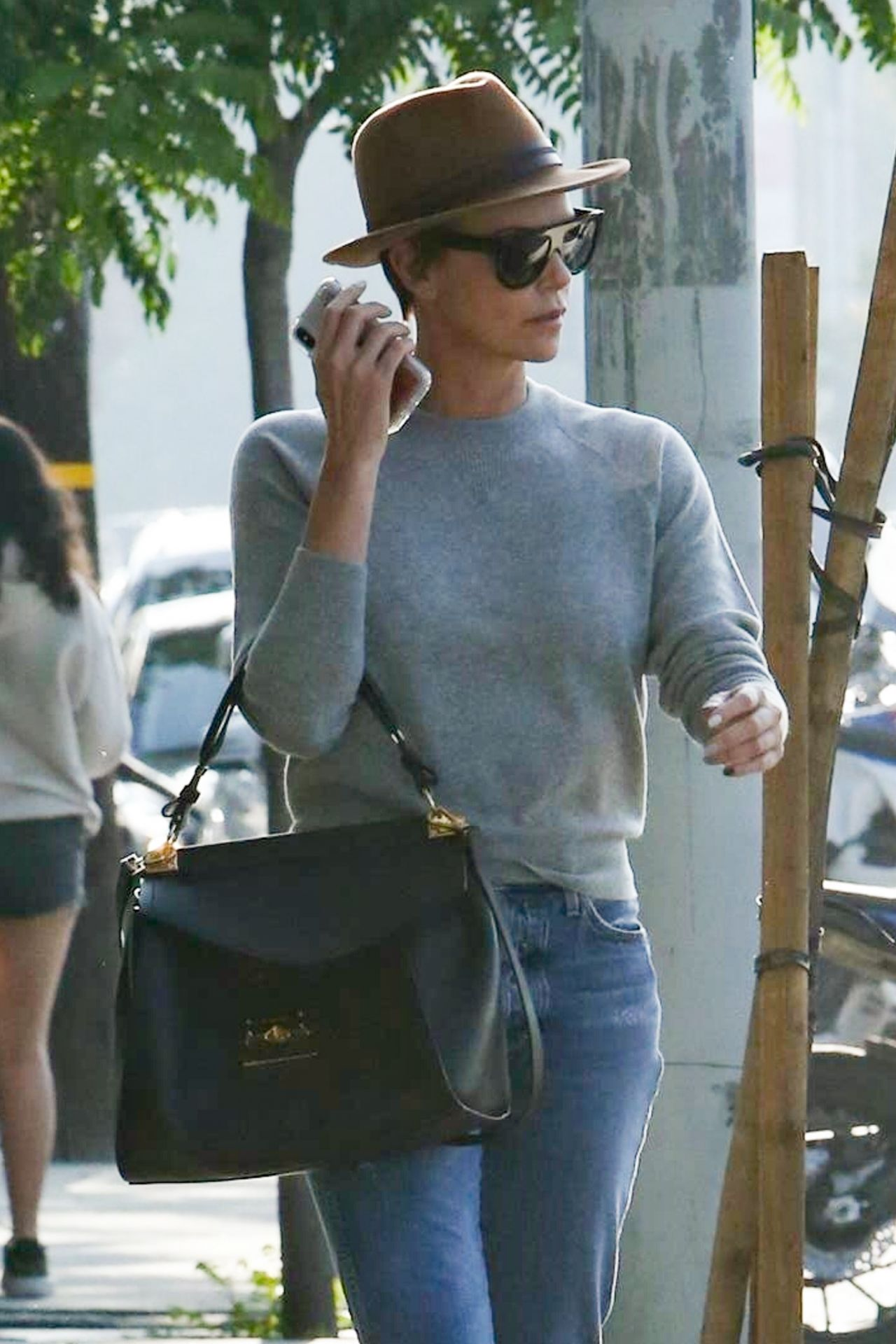 Charlize Theron Street Style  West Hollywood 05032019