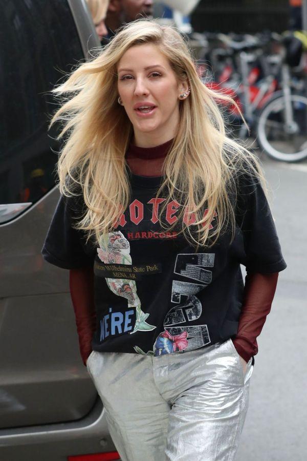 Ellie Goulding Urban Style - Kiss Radio Studios In London