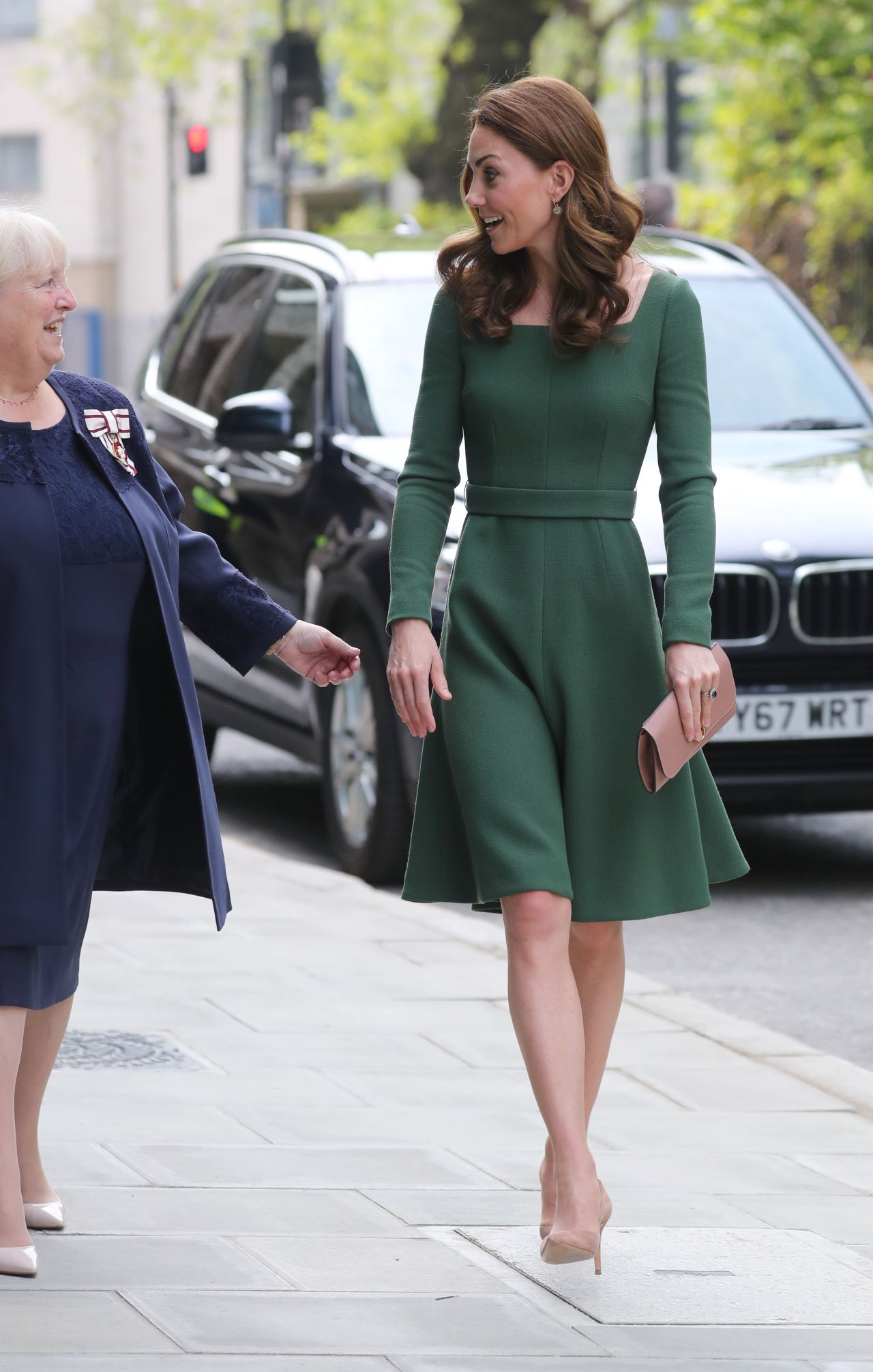 Kate Middleton  New Center of Excellence Opening in
