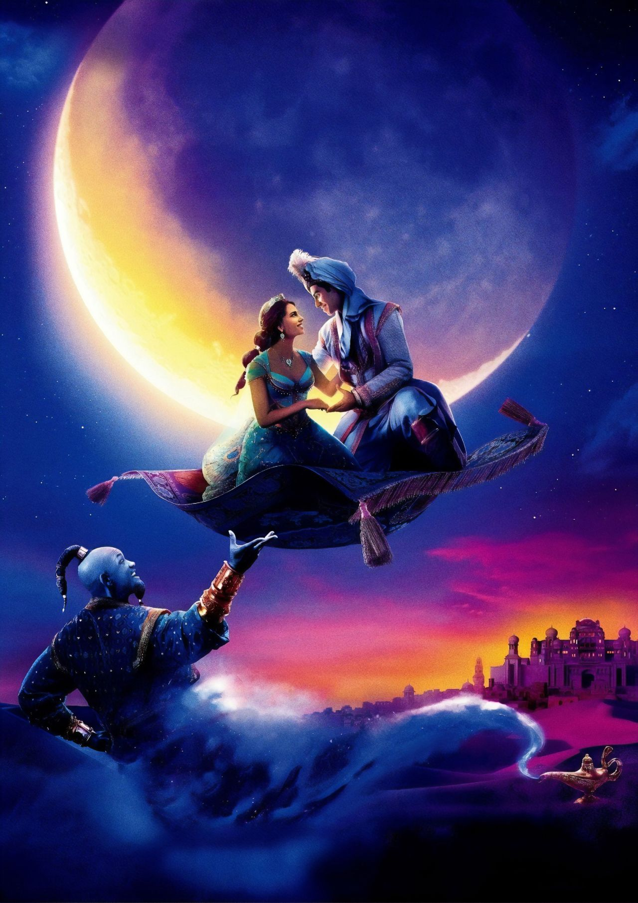 Naomi Scott  Aladdin 2019 Posters and Promo Photos