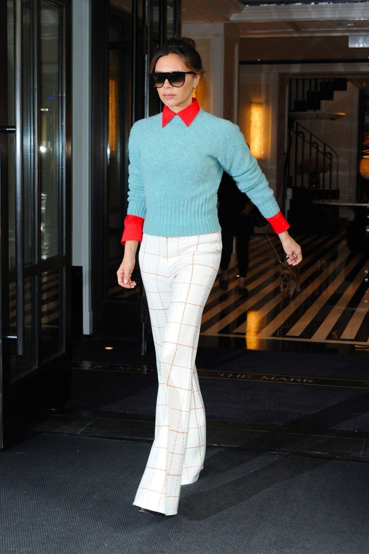 Victoria Beckham Style and Fashion  New York 05102019
