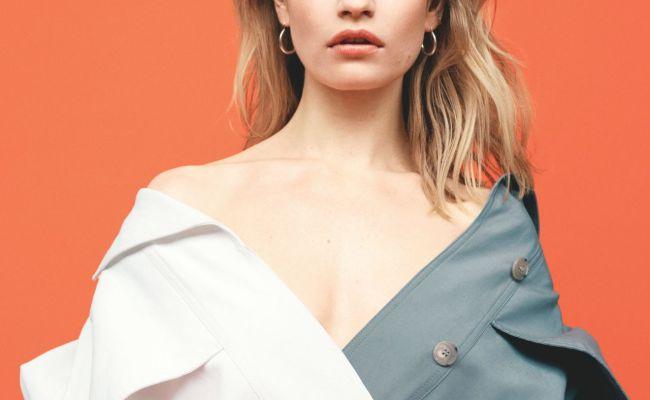 Lily James Telegraph Magazine June 2019 Photos