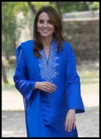 Kate Middleton - Visits the Margalla Hills National Park ...
