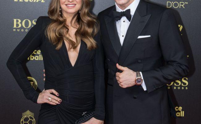 Anna Lewandowska And Robert Lewandowski Ballon D Or