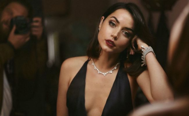 Ana De Armas No Time To Die 2020 Poster And Promo Photos