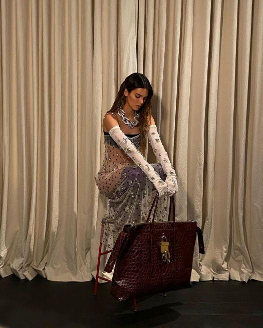 Kendall Jenner - Givenchy Spring / Summer 2021 • CelebMafia
