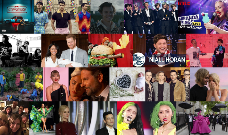 Collage of CelebMix's Top Celebrity Moments of 2019