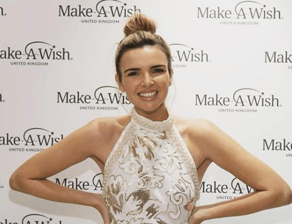 Nadine at Make-A-Wish UK show