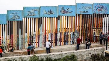 Mexican-US border wall