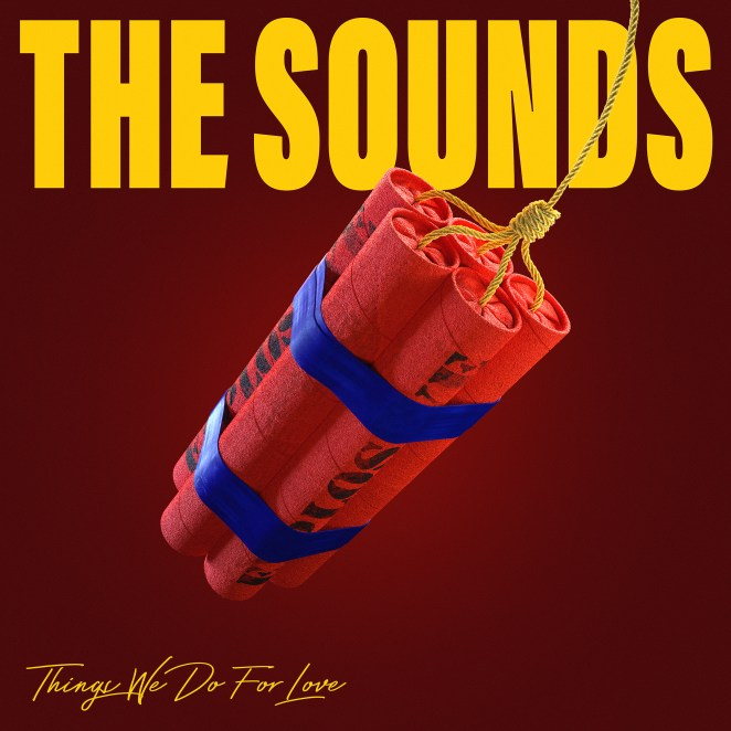 The Sounds album cover, The Things We Do For Love